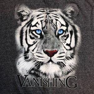 Vintage Alore White Tiger T Shirt Single Stitch